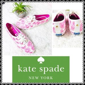 Kate Spade x Keds Pink Champion Daisy Sneakers 🌸
